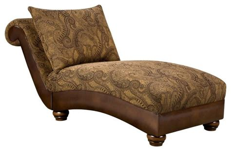 k b furniture chaise lounge tobacco 8104v ch