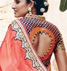 602d15e6ae2c27 Blouse Back Neck Designs: Top 54 Trendy Designs Of 2016 onerror=