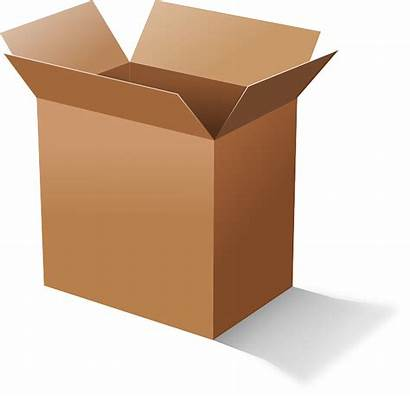 Box Cardboard Packaging Pixabay Vector Container Graphic