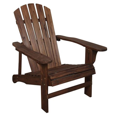 leigh country charred wood patio adirondack chair tx 94056