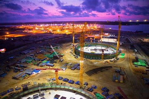 angola liquefied natural gas lng plant bechtel