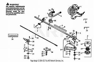 Poulan 1900 Gas Trimmer Parts Diagram For Cutting Head