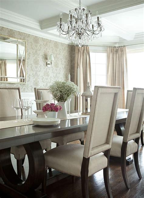 The Elegant Abode Li Dining Room Glam Dining Room, Crystal
