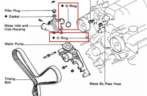 Lexu Ls400 Water Diagram by Coolant Leak Back Of Engine Pull Trans Or Engine