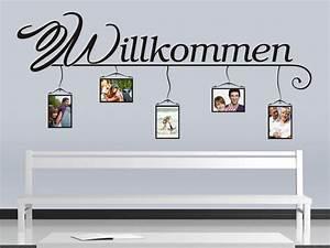Wandtattoo Mit Bilderrahmen : wandtattoo willkommen mit bilderrahmen bei ~ Bigdaddyawards.com Haus und Dekorationen