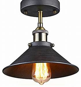 Industrial ceiling light welcoming spaces flush mount