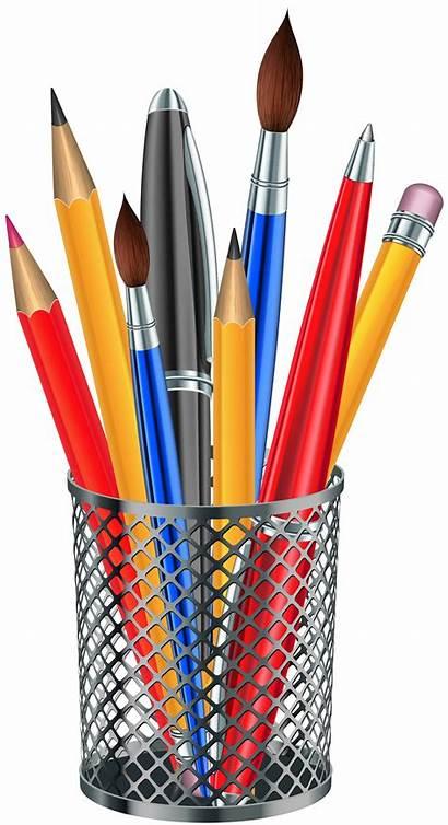 Transparent Clipart Pencil Cup Clip Metal Supplies