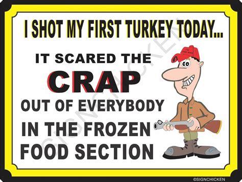 Funny Hunting Metal Sign Funny Hunting Trespassing Gun
