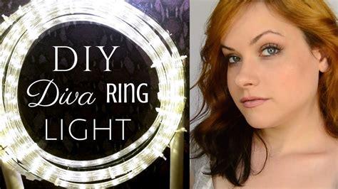 easy cheap diva ring light diy tutorial youtube