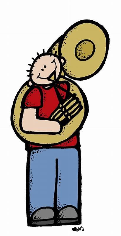 Melonheadz Clip Clipart Tuba Dr Seuss Player