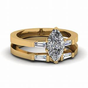 tapered baguette diamond womens wedding band in 14k rose With baguette wedding ring sets