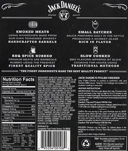 Jack Daniels Nutritional Value