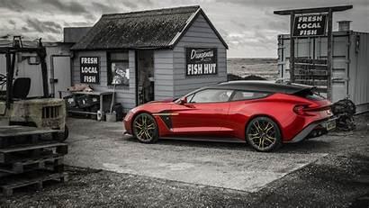 Aston Martin Zagato Shooting Brake Vanquish 4k