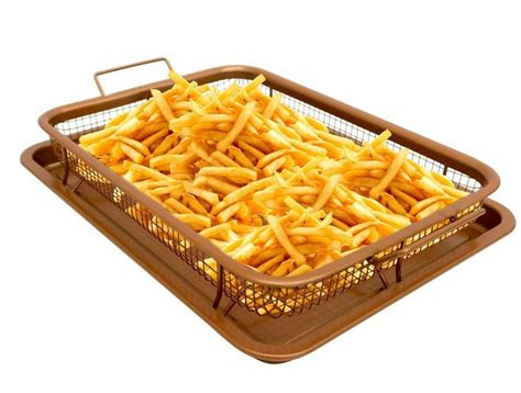 gotham steel copper crisper tray air fry