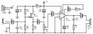 Max 1w    8 Ohms Amplifier Based On Lm386 With Input For