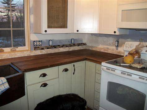 Black Walnut Countertops by Blackbirchfarm Black Walnut Kitchen Countertop