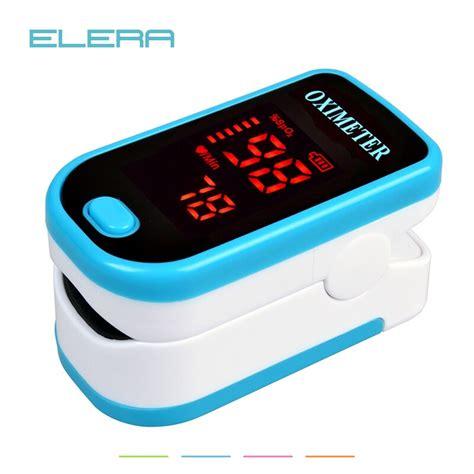 ELERA LED Fingertip Pulse Oximeter Blood Oxygen SPO2 PR