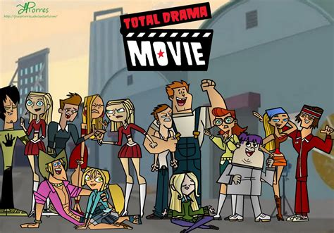 anime drama movie total drama movie by joaoptorres on deviantart