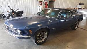 70 Blue Fastback Stang Mach 1 Auto 302 V8 Power Classic Show Car Coupe 2dr WMS - Classic Ford ...