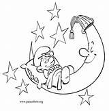 Coloring Smurfs Sleepy Smurf Lazy Pitufos Puffo Colorear Dorme Luna Colouring Dibujos Smurfen Kleurplaten Puffi Bed Schtroumpfs Ausmalbilder Pigrone Sdraiato sketch template