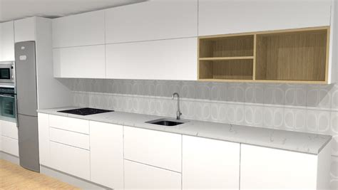 muebles de cocina hasta el techo    cocinas