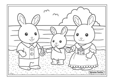 jeux de fille cuisine de coloriage de la balade au bord de mer de la famille lapin