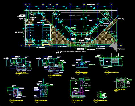 landscaping layout  autocad cad   kb