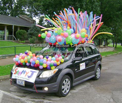 was invited to decorate my car for a parade the polka dot