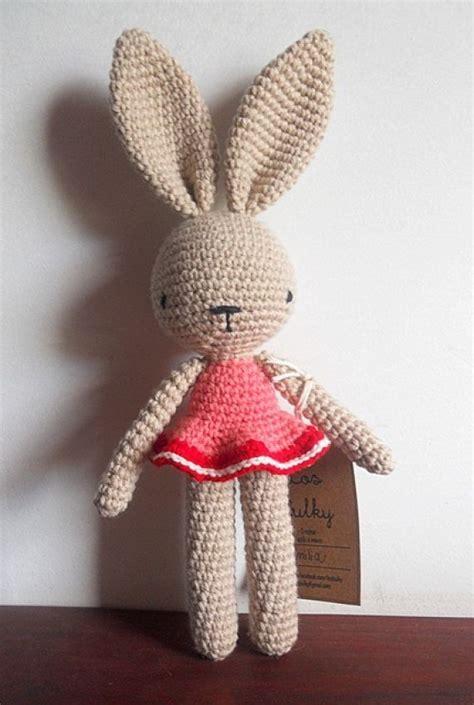 conejos bulky munecos  crochet tejidos de punto