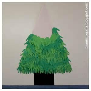 handmade christmas tree the crafty mummy