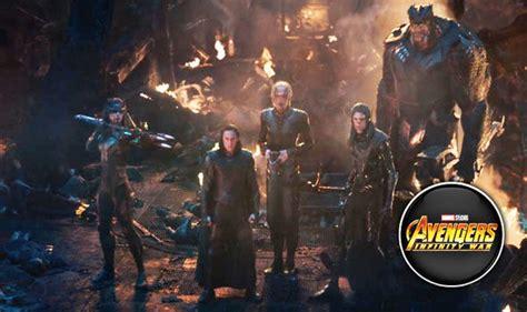 avengers infinity war backlash  weak black order