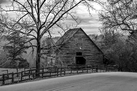 black and white barn old barn black and white photograph by frank molina