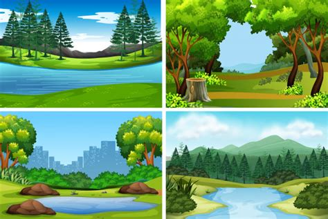 Forest Background Vectors Photos Psd Files Free