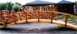 Pont En Bois Pour Jardin : ponts passerelle pour bassin pas cher port offert grand pont de jardin en bois am nagement tang ~ Nature-et-papiers.com Idées de Décoration