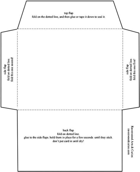 card template 5 x 7 envelope template standard envelope template free