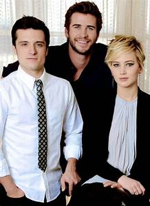 Josh Hutcherson as Peeta Mellark, Liam Hemsworth as Gale ...
