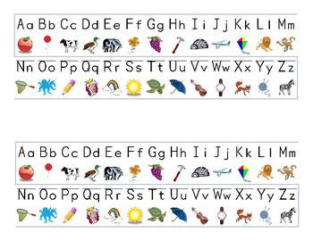 alphabet strip small alphabets alphabet writing
