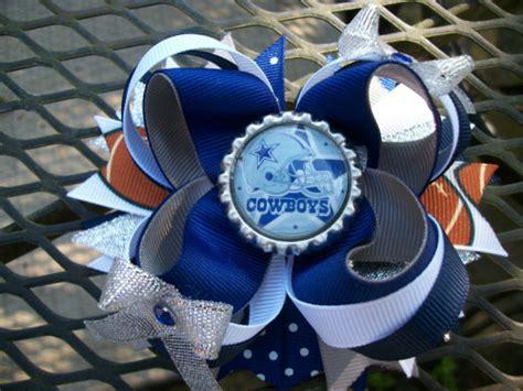 foto de Dallas Cowboys Boutique Stacked Hair Bow 4 inch