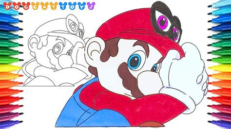 How To Draw Super Mario Odyssey Mario 134 Drawing