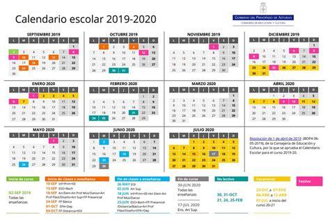 calendario escolar en asturias
