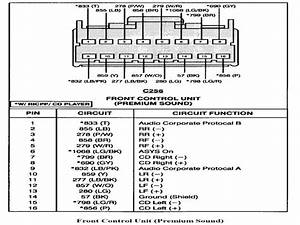 Stereo Wiring Diagram For 2002 Ford Expedition