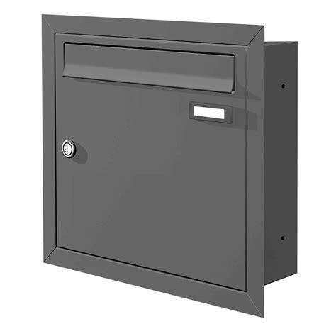 max knobloch briefkasten max knobloch unterputz briefkasten anthrazit ral 7016 12