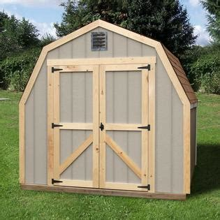 quality outdoor structures t0808sv wood storage shed 8 ft
