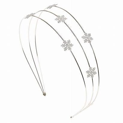 Headband Snowflake Metal Headbands Claire
