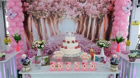 Decoração para festa de aniversario infantil Jardim