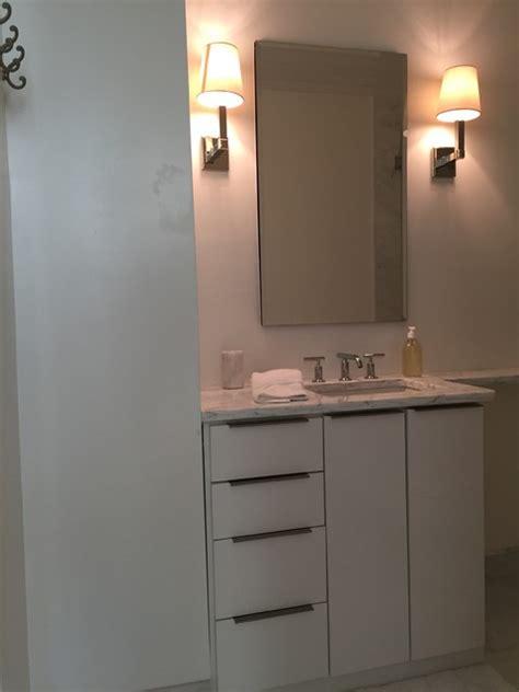 white bathroom vanity modern bathroom new orleans
