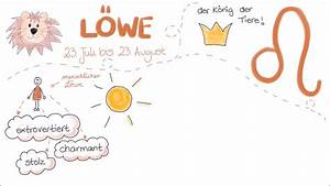 Sternzeichen Löwe Wann : sternzeichen l we als kritzelfilm youtube ~ Markanthonyermac.com Haus und Dekorationen