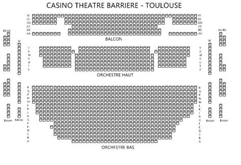 plan salle casino barriere toulouse casino barriere toulouse du 27 au 28