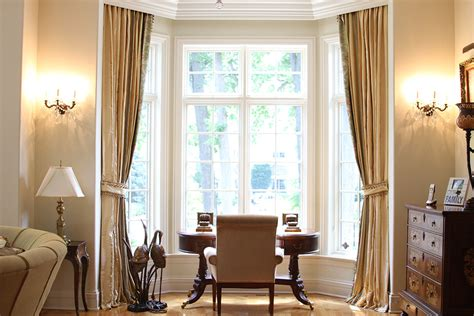 luxury window treatments home office traditional with