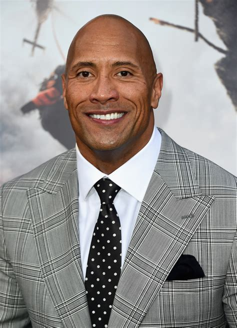 dwayne johnson brings  human element  disaster film